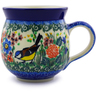 12 oz Stoneware Bubble Mug - Polmedia Polish Pottery H1289I