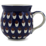 12 oz Stoneware Bubble Mug - Polmedia Polish Pottery H1395B
