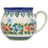 12 oz Stoneware Bubble Mug - Polmedia Polish Pottery H1566L