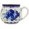 12 oz Stoneware Bubble Mug - Polmedia Polish Pottery H1575L