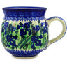 12 oz Stoneware Bubble Mug - Polmedia Polish Pottery H1681D