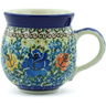 12 oz Stoneware Bubble Mug - Polmedia Polish Pottery H1685B