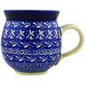 12 oz Stoneware Bubble Mug - Polmedia Polish Pottery H1689D