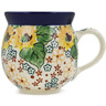 12 oz Stoneware Bubble Mug - Polmedia Polish Pottery H1706L