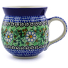 12 oz Stoneware Bubble Mug - Polmedia Polish Pottery H1879B