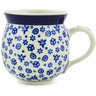 12 oz Stoneware Bubble Mug - Polmedia Polish Pottery H1929B