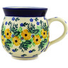 12 oz Stoneware Bubble Mug - Polmedia Polish Pottery H1936D