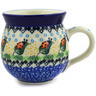 12 oz Stoneware Bubble Mug - Polmedia Polish Pottery H2199E