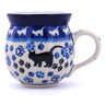 12 oz Stoneware Bubble Mug - Polmedia Polish Pottery H2385G