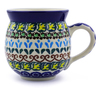 12 oz Stoneware Bubble Mug - Polmedia Polish Pottery H2449B