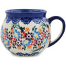 12 oz Stoneware Bubble Mug - Polmedia Polish Pottery H2579L