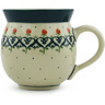 12 oz Stoneware Bubble Mug - Polmedia Polish Pottery H2605H