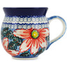 12 oz Stoneware Bubble Mug - Polmedia Polish Pottery H2642L