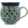 12 oz Stoneware Bubble Mug - Polmedia Polish Pottery H2869B