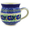12 oz Stoneware Bubble Mug - Polmedia Polish Pottery H2920E
