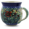 12 oz Stoneware Bubble Mug - Polmedia Polish Pottery H3138B