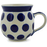 12 oz Stoneware Bubble Mug - Polmedia Polish Pottery H3169A