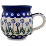 12 oz Stoneware Bubble Mug - Polmedia Polish Pottery H3171A