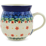 12 oz Stoneware Bubble Mug - Polmedia Polish Pottery H3404K