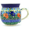 12 oz Stoneware Bubble Mug - Polmedia Polish Pottery H3428G