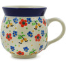 12 oz Stoneware Bubble Mug - Polmedia Polish Pottery H3448K