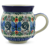 12 oz Stoneware Bubble Mug - Polmedia Polish Pottery H3563K