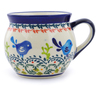 12 oz Stoneware Bubble Mug - Polmedia Polish Pottery H3645H