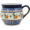 12 oz Stoneware Bubble Mug - Polmedia Polish Pottery H3939J