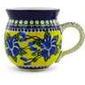 12 oz Stoneware Bubble Mug - Polmedia Polish Pottery H3970E