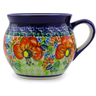 12 oz Stoneware Bubble Mug - Polmedia Polish Pottery H4354I