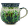 12 oz Stoneware Bubble Mug - Polmedia Polish Pottery H5069K