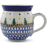 12 oz Stoneware Bubble Mug - Polmedia Polish Pottery H5532B