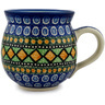 12 oz Stoneware Bubble Mug - Polmedia Polish Pottery H6197B
