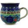 12 oz Stoneware Bubble Mug - Polmedia Polish Pottery H6215B