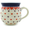 12 oz Stoneware Bubble Mug - Polmedia Polish Pottery H6238H