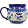 12 oz Stoneware Bubble Mug - Polmedia Polish Pottery H6401K