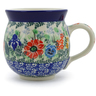 12 oz Stoneware Bubble Mug - Polmedia Polish Pottery H6861J