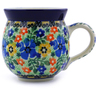 12 oz Stoneware Bubble Mug - Polmedia Polish Pottery H6890B