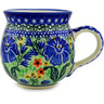 12 oz Stoneware Bubble Mug - Polmedia Polish Pottery H6896B