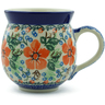 12 oz Stoneware Bubble Mug - Polmedia Polish Pottery H6903B