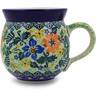 12 oz Stoneware Bubble Mug - Polmedia Polish Pottery H6906B