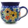12 oz Stoneware Bubble Mug - Polmedia Polish Pottery H6907B