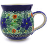 12 oz Stoneware Bubble Mug - Polmedia Polish Pottery H6959B