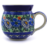 12 oz Stoneware Bubble Mug - Polmedia Polish Pottery H6961B
