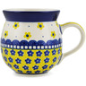 12 oz Stoneware Bubble Mug - Polmedia Polish Pottery H7101B