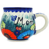 12 oz Stoneware Bubble Mug - Polmedia Polish Pottery H7208E