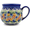 12 oz Stoneware Bubble Mug - Polmedia Polish Pottery H7219J
