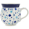 12 oz Stoneware Bubble Mug - Polmedia Polish Pottery H7489K