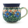 12 oz Stoneware Bubble Mug - Polmedia Polish Pottery H7902G