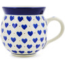 12 oz Stoneware Bubble Mug - Polmedia Polish Pottery H7923B